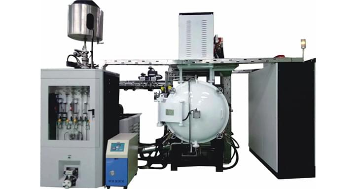 Integrated vacuum dewaxing & sintering furnace (traditional type)